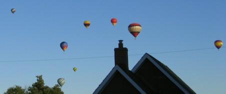 Up, up, and awaaay, in my beautiful balloooon�