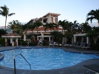Hotel pool shot.